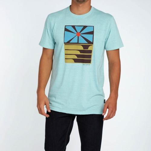 Camiseta Billabong Essaouira Tee Light Aqua