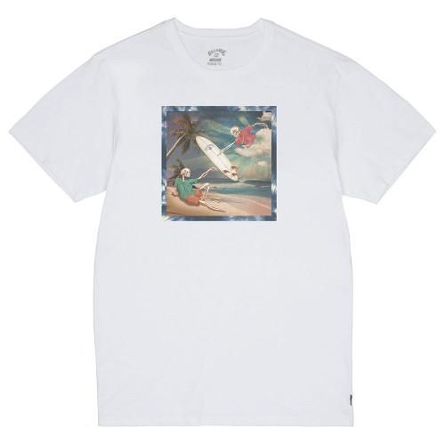 Camiseta Billabong First Sight Tee White