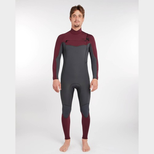 Neopreno de surf Billabong Furnace Absolute 4/3 CZ GBS Dark Plum