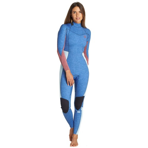 Neopreno de surf Billabong Furnace Synergy 4/3 BZ GBS Blue Heather