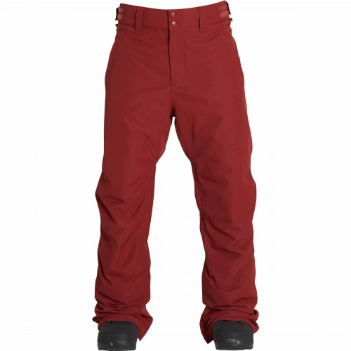 Pantalones de snowboard Billabong Lowdown Bordeaux