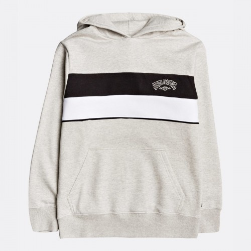 Sudadera Billabong Momentum Boy Grey Heather