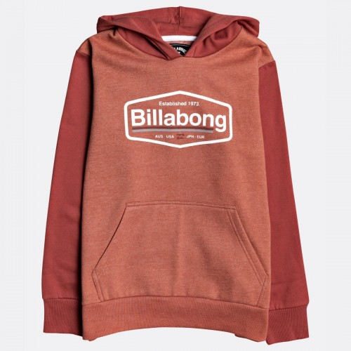 Sudadera Billabong Montana Deep Red