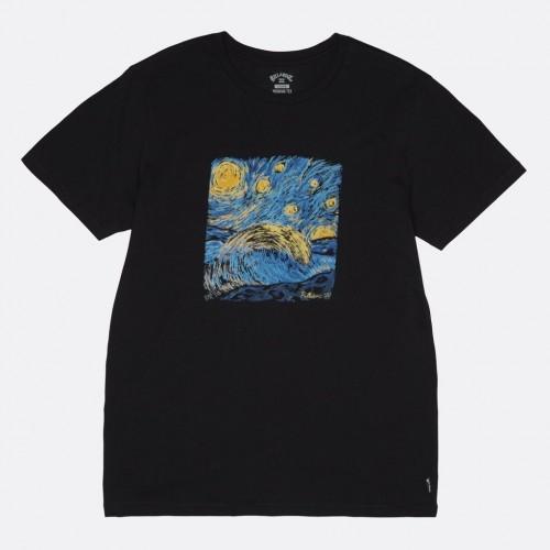 Camiseta Billabong Night Session Tee Black