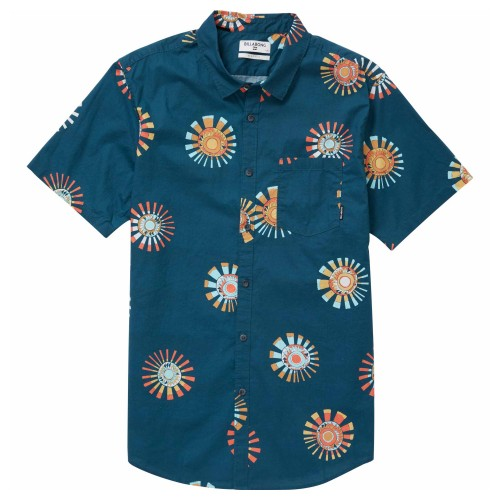 Camisa Billabong Sunday Floral Navy