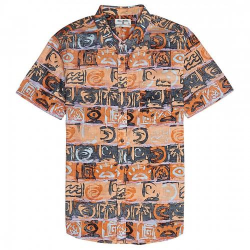 Camisa Billabong Sundays Floral Orange