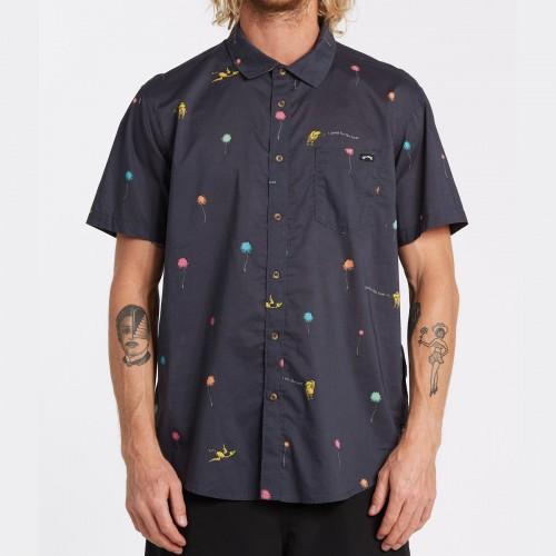 Camisa Billabong Truffula Charcoal
