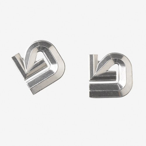 Stomp pad Burton Aluminum Logo Silver