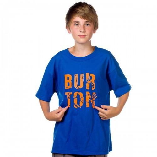 Camiseta Burton Boys Fracture SS Royal Blue