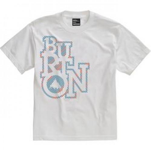 Camiseta Burton Boys Hum Day SS Bright White