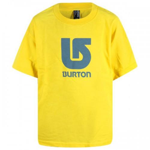 Camiseta Burton Boys Logo Vertical SS Gold Medal