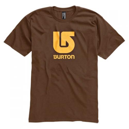 Camiseta Burton Boys Logo Vertical SS Mocha