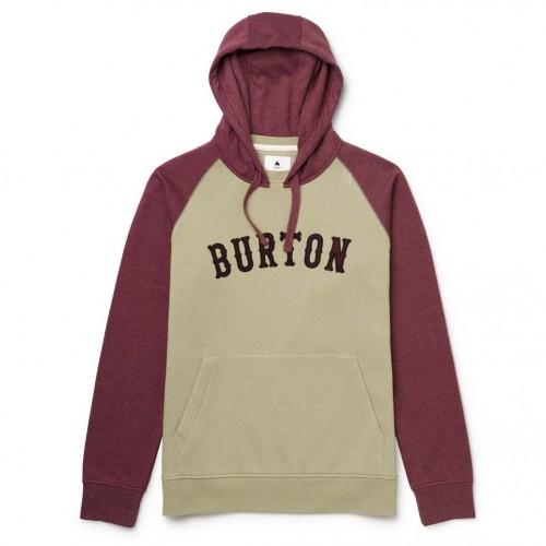 Sudadera Burton Boys Mid On Deck Pullover Hoodie Heather Sangria