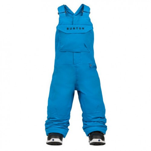 Pantalones de snowboard Burton Boys Mini Shred Cyclops Bib Pants Bib Blue-Ray