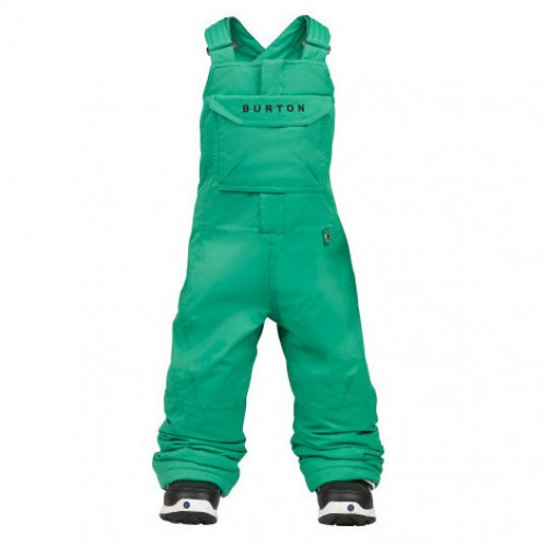 Pantalones de snowboard Burton Boys Mini Shred Cyclops Bib Pants Bib Turf