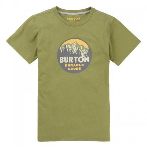 Camiseta Burton Boys Taproot Tee Grasshopper