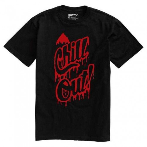 Camiseta Burton Chill Out True Black