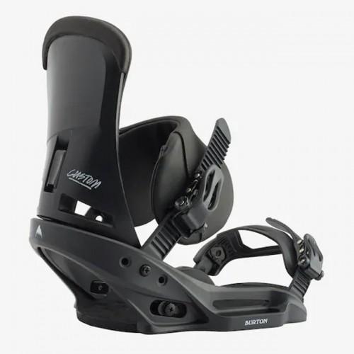 Fijaciones de snowboard Burton Custom Est Black 2020