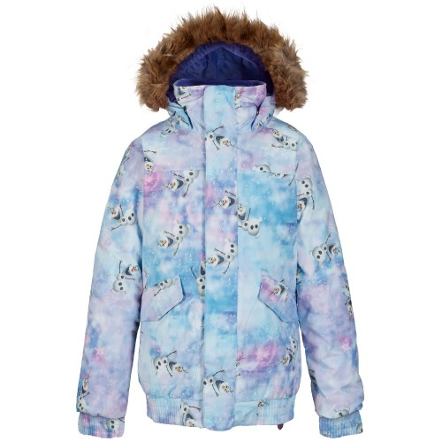 Chaqueta de snowboard Burton Disney Frozen Girls Twist Bomber Jacket Olaf Frozen Print Disney