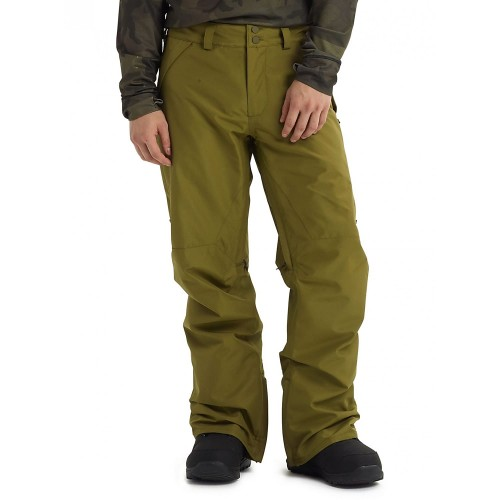 Pantalones de snowboard Burton Gore Vent Pants Martini Olive
