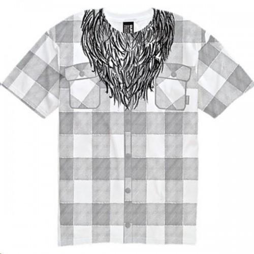 Camiseta Burton Lumberjack Bright White