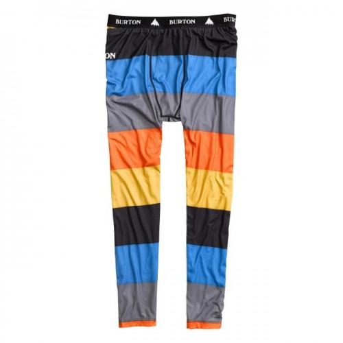 Malla de snowboard Burton Midweight Pant Clockwork Pop Stripe