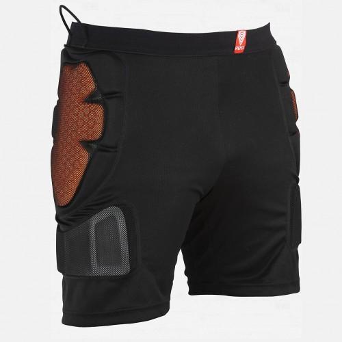 Protección de snowboard Burton Red Total Impact Short Black