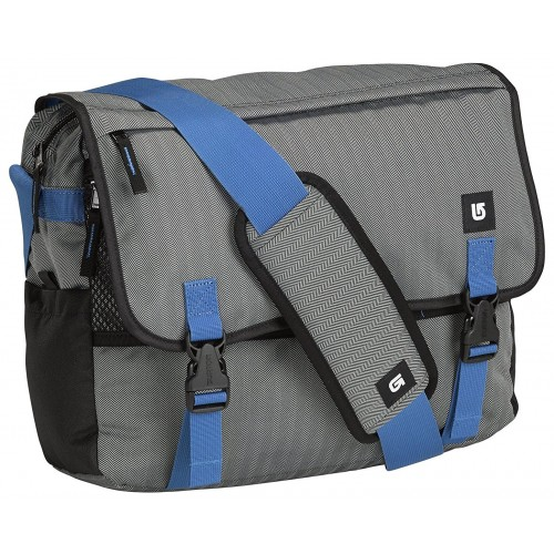 Bolsa Burton Synth Messenger Pewter Heather