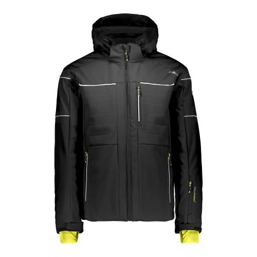 Chaqueta de snowboard Campagnolo Jacket Zip Hood Black