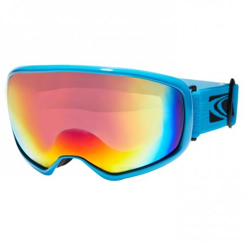 Gafas de snowboard Carve First Tracks Cyan/Yellow