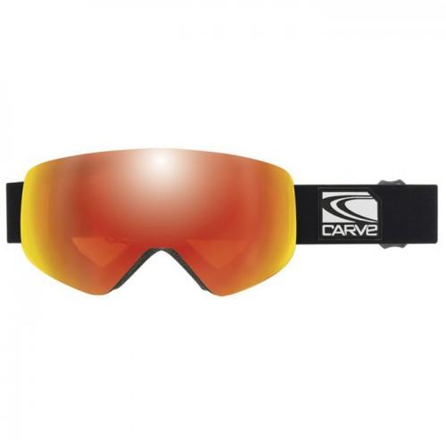 Gafas de snowboard Carve Infinity Matt Black/Red Orange Iridium