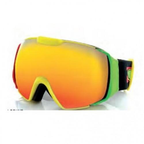 Gafas de snowboard Carve Platinum Rasta/Orange Revo