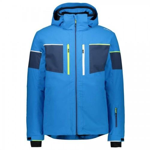 CMP Man Jacket Zip Hood Blue