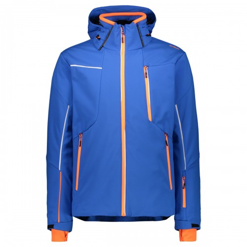 CMP Man Jacket Zip Hood Royal
