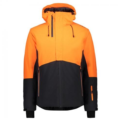 Chaqueta de snowboard CMP Man Mid Jacket Fix Hood Antracite