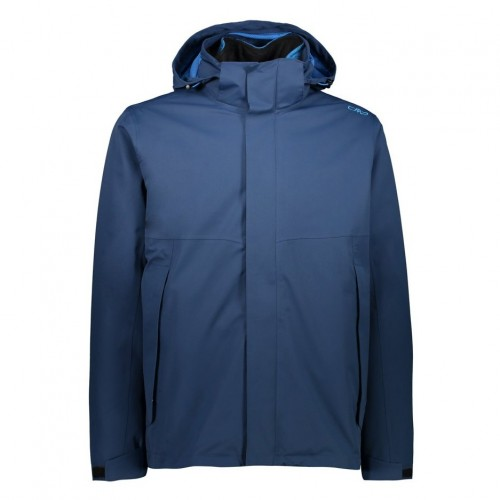 Chaqueta de snowboard CMP Man Mid Jacket Zip Hood + Detachable Inn.Jacket Blue Ink