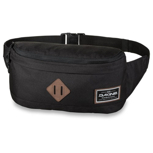 Riñonera Dakine 2 For 1 Hip Pack 8L Hip Bag Black