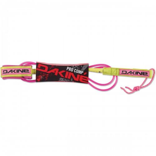 """Invento de surf Dakine Pro Comp 6'x3/16"""" Surf Leash Pink"""