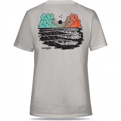Camiseta Dakine Sunset T-Shirt Silver Grey