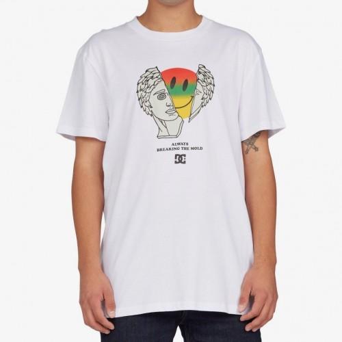 Camiseta DC Break The Mold Tee White