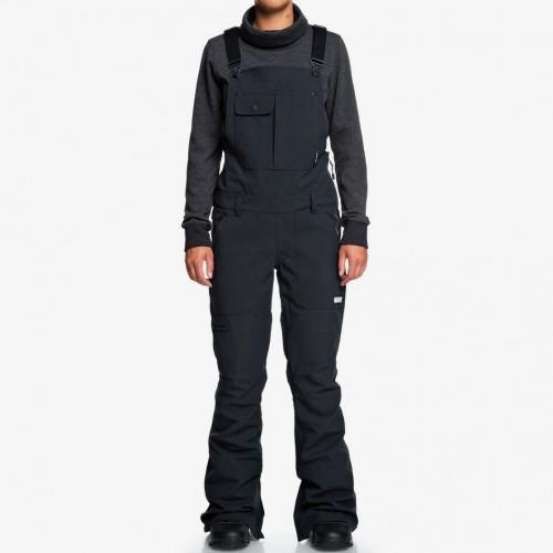 Pantalones de snowboard DC Collective Bib Bio Wash Black