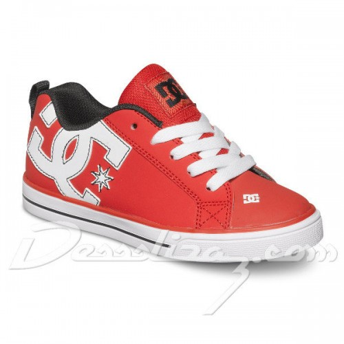 Zapatillas de bebé DC Court Graffik Vulc Red