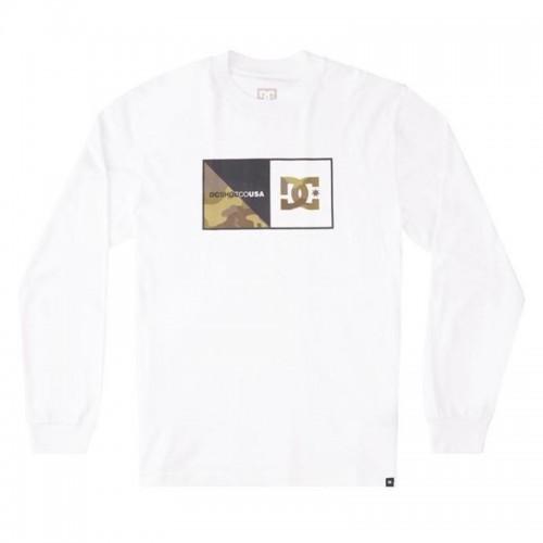Camiseta DC Forms Hls White