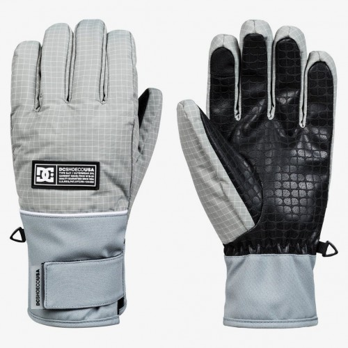 Guantes de snowboard DC Franchise Neutral Gray