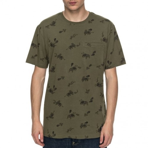 Camiseta DC Pilkington Vintage Green Tiger Ambush
