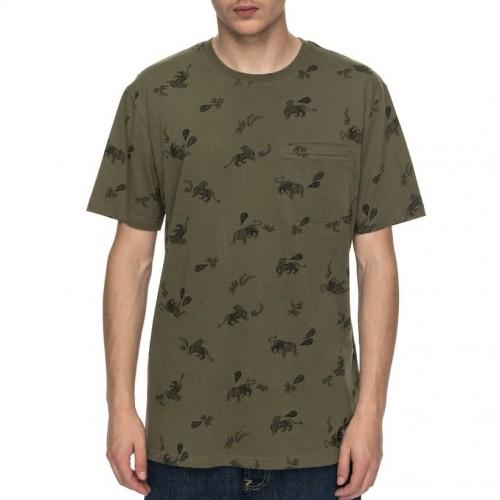 Camiseta DC Pilkington Vintage Green Tiger Ambush