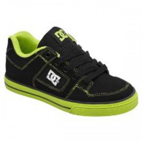 Zapatillas de bebé DC Pure Black/Green Flash