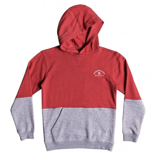 Sudadera DC Rebel Block Boy Porcelain Rose