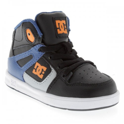 Zapatillas de bebé DC Rebound UL Blue/Black/White