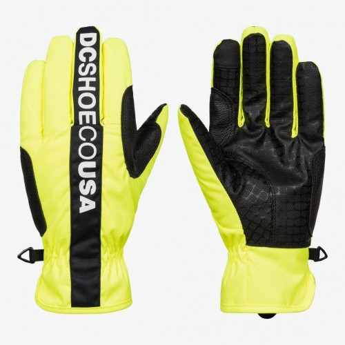 Guantes de snowboard DC Salute Glove Safety Yellow